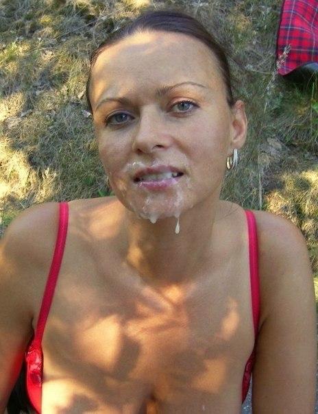 Тёлки разного возраста ловят камшоты на лица в сете домашки